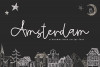 Amsterdam - A Handwritten Script Font example image 1