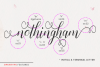 Nothingham Script | Regular & Italic example image 4