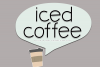 Iced Coffee - A Handwritten Font example image 1