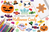 Halloween Candy Clipart, Instant Download Vector Art example image 1