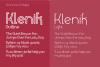 Klenik   a Slab Seriff Font example image 2