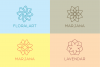50 Luxury Linear Premade Logo Pack example image 2