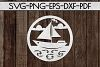 Summer Sign Papercut Templates Bundle, Beach SVG, DXF, PDF example image 8