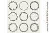 FLORAL MEGA BUNDLE 30 wreath, laurel, heart leaf frames SVG example image 3