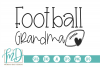Football - Football Grandma SVG example image 1