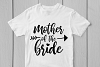 Mother Of The Bride - Wedding SVG EPS DXF PNG Cutting Files example image 2