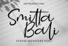 Smitta Bali - Luxury Signature Font example image 1
