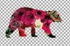 Floral bear family, sister, brother, baby, papa, mama bear example image 23
