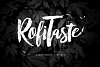 RofiTaste Typeface example image 1