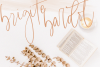Lasiera Script Font | Blog style example image 12