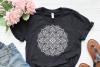 Mandala Svg, Zentangle Svg, Mandala Sunflower Svg, Mandala example image 3