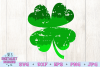 St. Patrick's Day SVG   Four Leaf Clover SVG   Ombre SVG example image 3