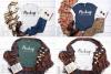 Winter Tshirt Mockup Bundle Bella Canvas 3001 3005 3501 3719 example image 3