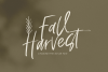 Fall Harvest - A Handwritten Script Font with extras! example image 1