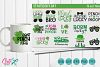 Truck st patrick's day mini bundle, quotes and  svg cut files  example image 1