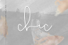 Mini Handwritten Script Font Bundle - 10 Fonts example image 17