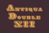 Antiqua Double 12 example image 1