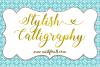 Stylish Calligraphy example image 1