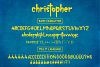 christopher-display font and texture version example image 3