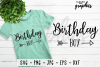 Birthday Boy SVG Cut file PNG EPS DXF JPG - Crafters SVG's example image 1