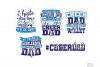 Cheer Dad SVG in SVG, DXF, PNG, EPS, JPG example image 4