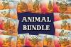 Mandala style 30 Animal Svg BUNDLE, Zentangle Svg, Boho svg example image 1