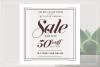 GRUNGE Social media sale banner pack example image 10