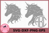 Unicorn Grunge, Unicorn Vector, Unicorn Digital, Distressed example image 1