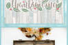 Happy Thanksgiving Quote With Leaves Berries SVG example image 4