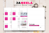 8 Sheets Resume and CV Template Modern Porfessional example image 3