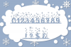 Christmas Mornings | Winter & Christmas Font with Extras example image 3