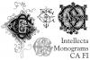 Intellecta Monograms CA FI example image 2
