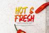 FresHot - Handwritten Display Font example image 3