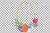 Easter golden watercolor floral frames, floral frames example image 13