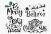 Christmas Bundle SVG, Cut Files, Christmas Shirt Design example image 2