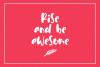 Cuties Magenta - Playful Font - example image 5