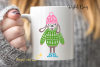 Winter Rabbit, Easter SVG / DXF / EPS / PNG files example image 6