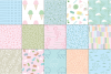 Pastel 80's Seamless Patterns example image 5