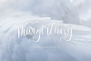 Margerlliny - Modern calligraphy font example image 1
