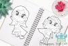 Superhero Girls 2 Digital Stamps example image 3