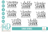 Shark Family - Shark Bundle SVG example image 1