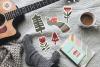 Nordic winter scandi christmas set example image 7