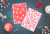 12 Valentine Seamless Patterns example image 6