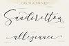 Sarodime - Romantic Calligraphy Font example image 7