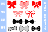 Bow Bundle Svg Png Eps Dxf example image 1