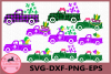 Mardi Gras Truck SVG, Truck Svg, Truck fleur de lis Svg example image 1