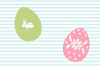 Decorated Easter Egg SVG and Cut File Set example image 2