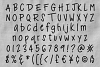 Ankle Biter Print - a childlike handwriting font! example image 2