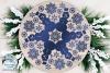 Snowman Mandala SVG | Winter Mandala SVG Cut File example image 3