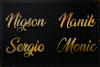 12 Gold Clean Text Effect Styles example image 3